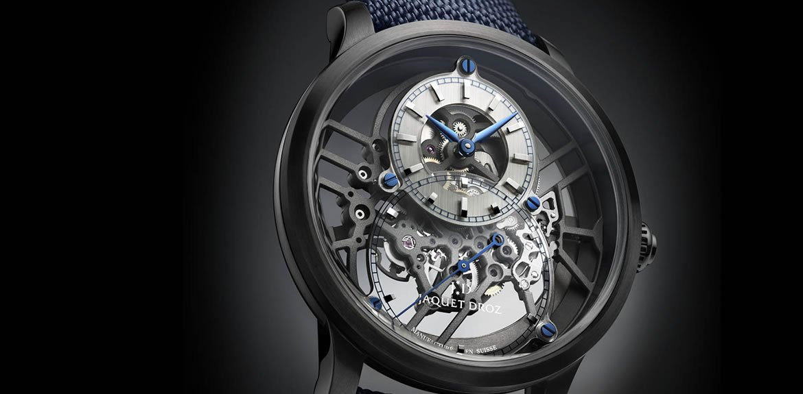 Jaquet Droz Skelet-one Ceramic