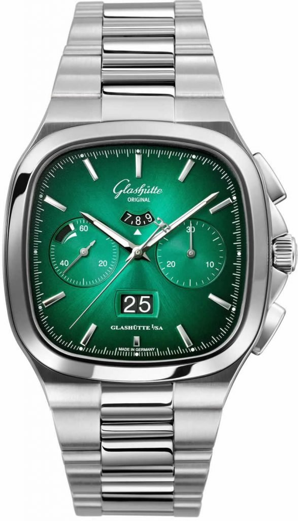 Glashütte Original Panorama Date Green