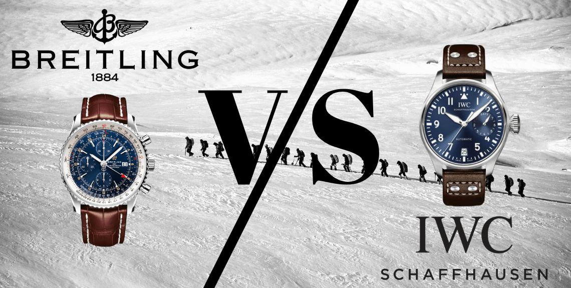 Breitling vs IWC