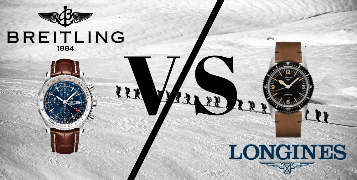 Longines vs Breitling