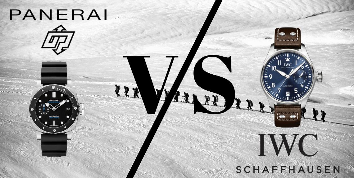 Panerai vs IWC