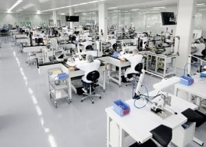 Omega Watch Factory