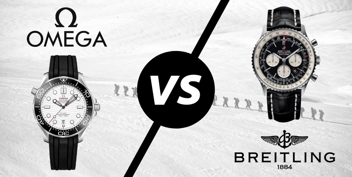 Omega vs Breitling