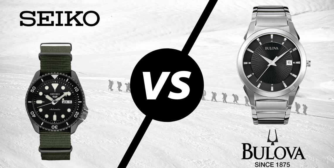 Seiko vs Bulova