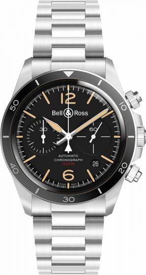 Bell & Ross BR V2-94 Steel Heritage