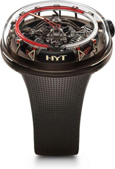 HYT H20 Black DLC Brown Limited Edition
