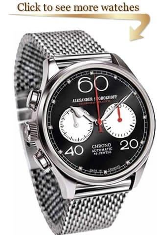 Linkshänder Uhr