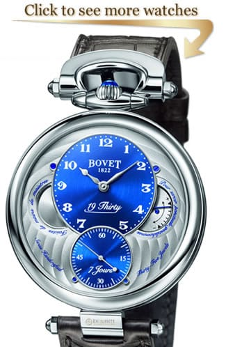 Bovet 19Thirty Collection