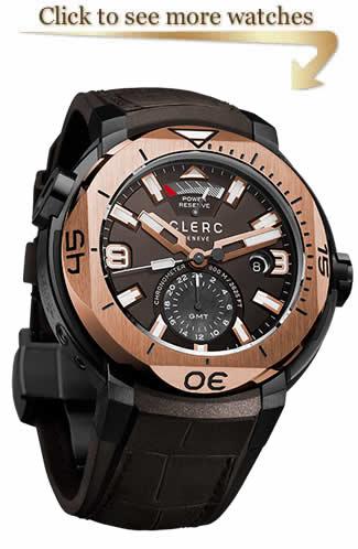 Clerc Hydroscaph GMT