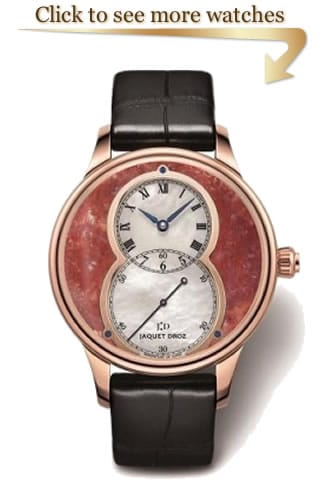 Jaquet Droz Mineral Timepieces