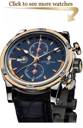 Louis Moinet Geograph Watches