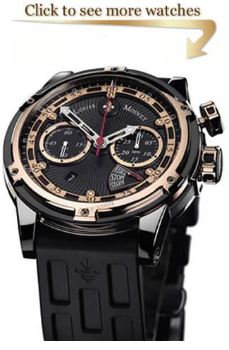 Louis Moinet Jules Verne Watches