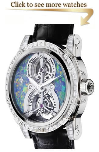 Louis Moinet Treasures of The World Watches