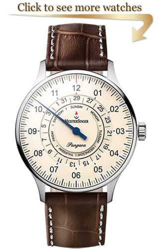 MeisterSinger Pangaea Day Date Collection