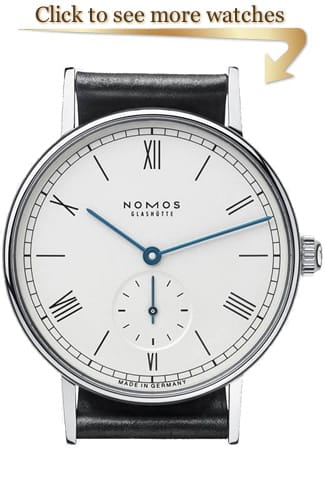 NOMOS Glashütte Ludwig Watches
