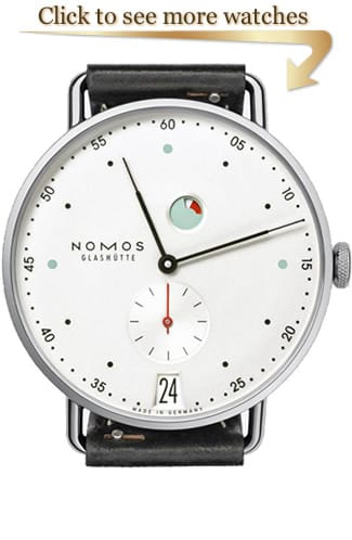 NOMOS Glashütte Metro Watches