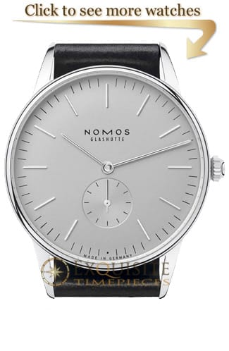 NOMOS Glashütte Orion Watches