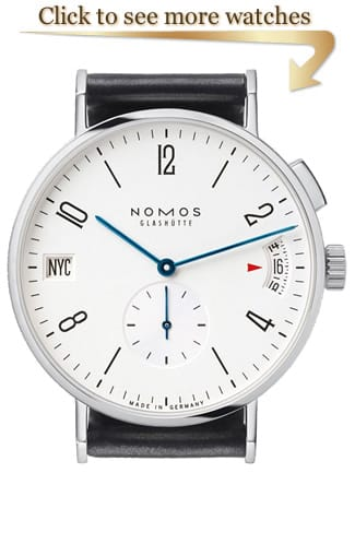 NOMOS Glashütte Tangomat Watches