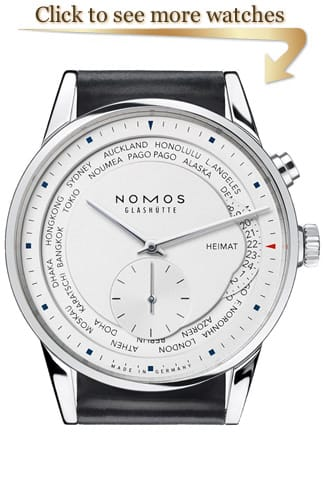 NOMOS Glashütte Zurich Watches