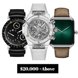 Pre-owned Watches $20,000.00 and Above