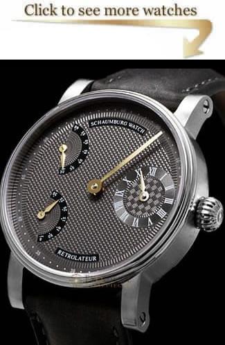 Schaumburg Watch Retrolateur & Trible