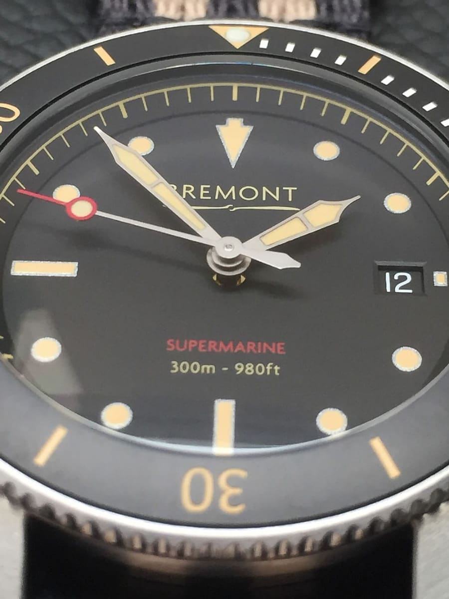 Bremont Supermarins S301 closeup