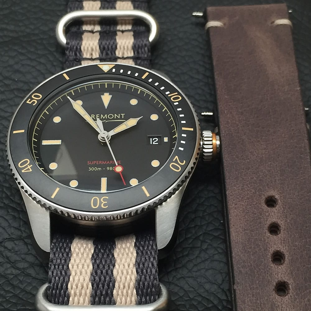 Bremont Supermarins S301 straps