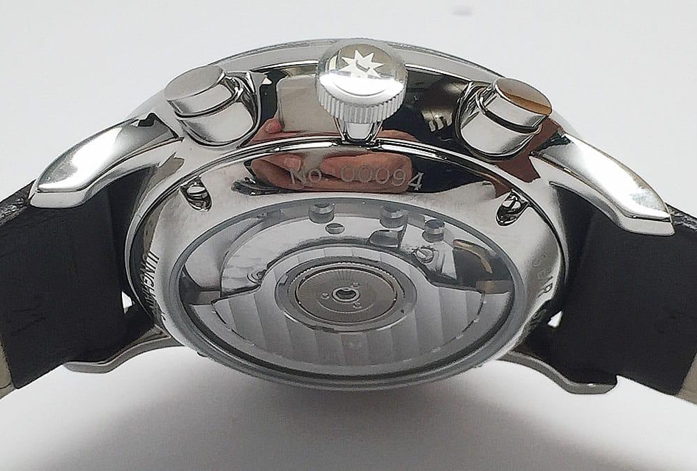 Junghans Meister Driver Chronoscope back