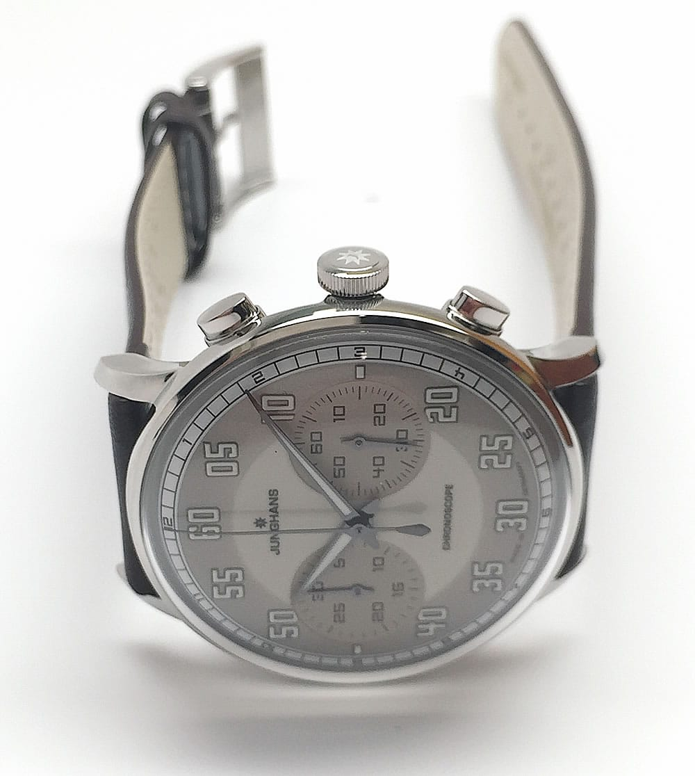 Junghans Meister Driver Chronoscope side