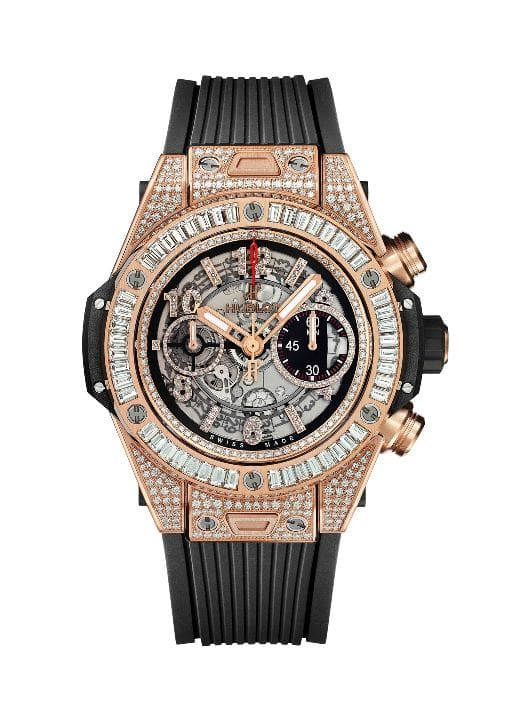 HUBLOT BIG BANG UNICO KING GOLD JEWELERY 411.OX.1180.RX.0904