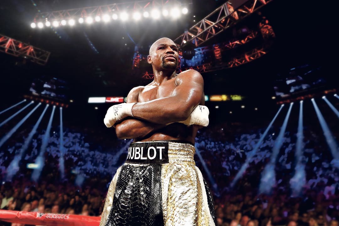 FLOYD MAYWEATHER RETURNS TO THE RING IN FABULOUS LAS VEGAS!